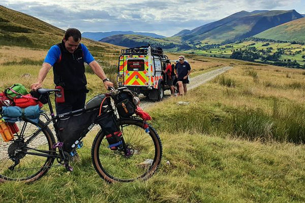 The scene of the incident on the Old Coach Road. Photo: Keswick MRT