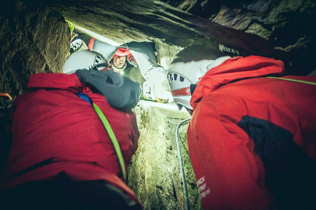 The team managed to extricate the climber unharmed. Photo: Keswick MRT
