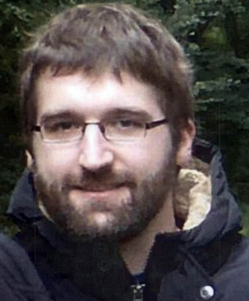 Kilian Ruthlein, whose disappearance has sparked a major search