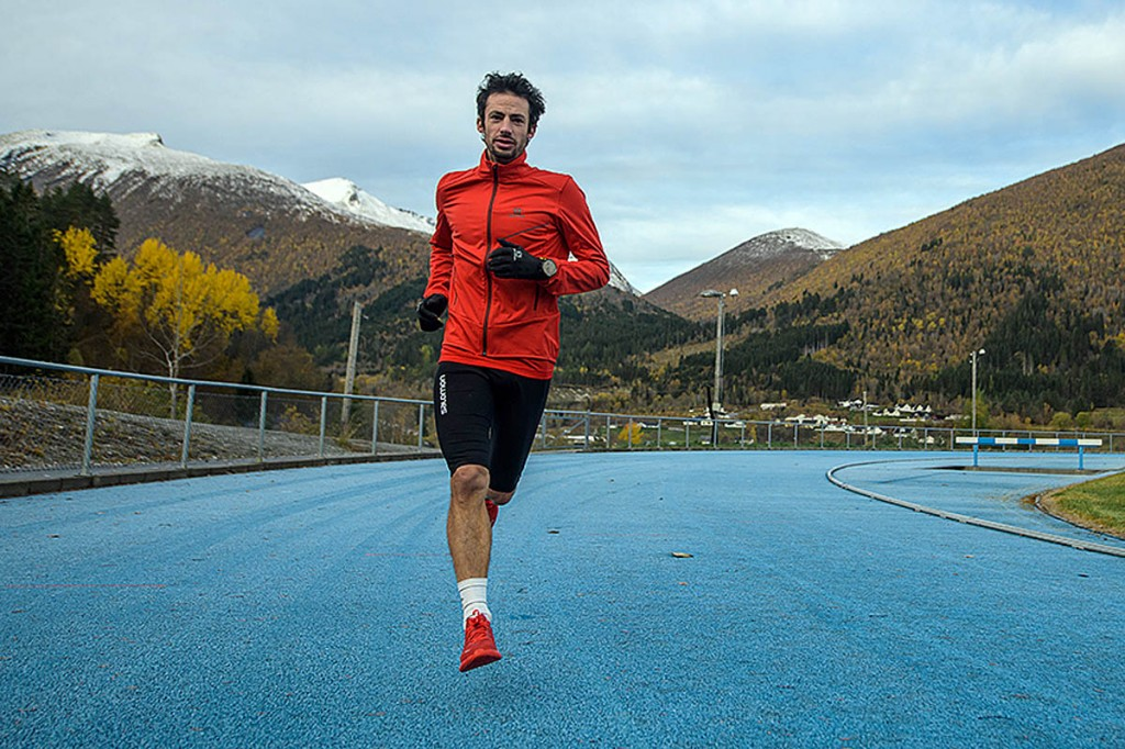 Jornet will tackle the challenge on a track in Norway