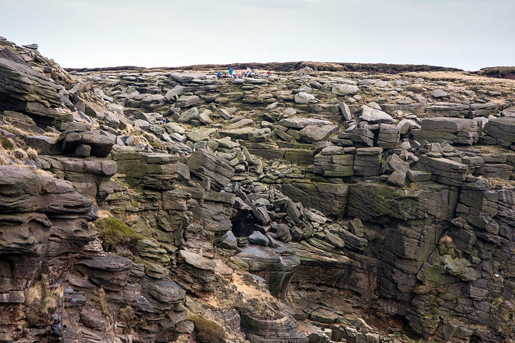 The walker fell at Kinder Downfall. Photo: Bob Smith/grough