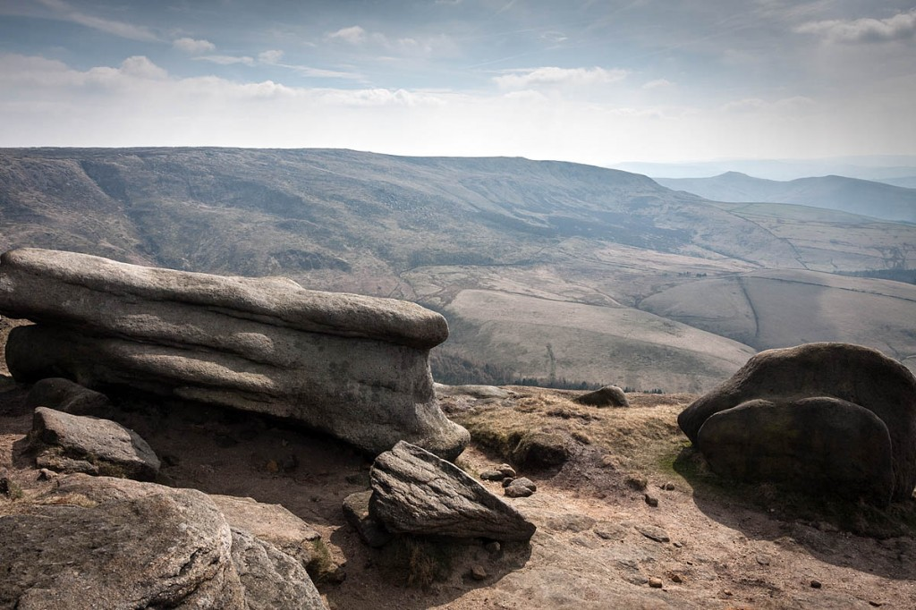 The group got lost on Kinder Scout. Photo: Bob Smith/grough