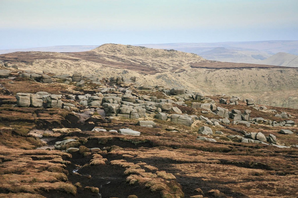 The man spend the night on Kinder Scout. Photo: Bob Smith/grough
