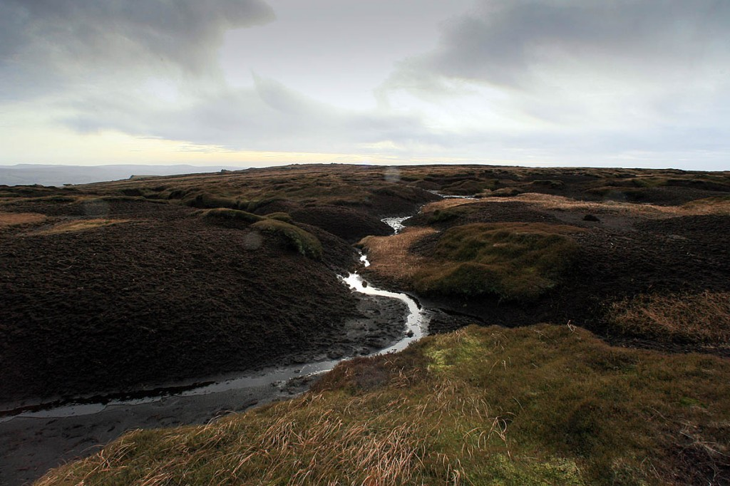 The women got lost on the Kinder Scout plateau. Photo: Bob Smith/grough