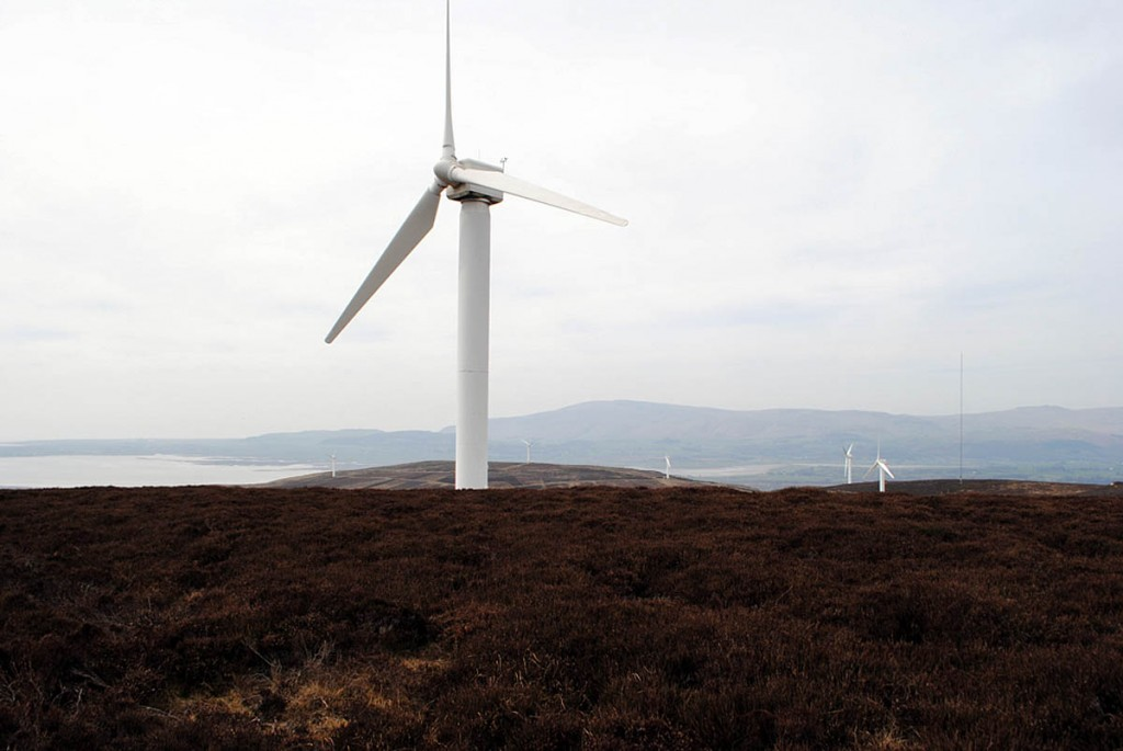 The Kirkby Moor windfarm