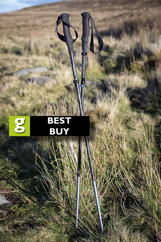 The Komperdell poles earned a best buy rating. Photo: Bob Smith/grough