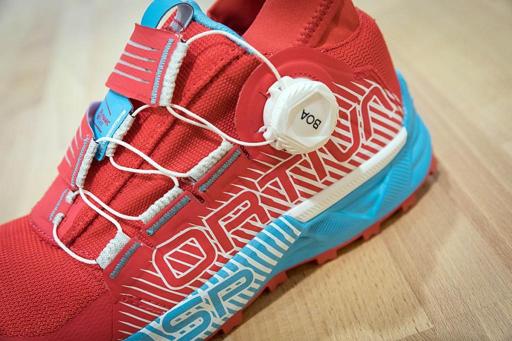 La Sportiva's Cyklon running shoe. Photo: Bob Smith/grough