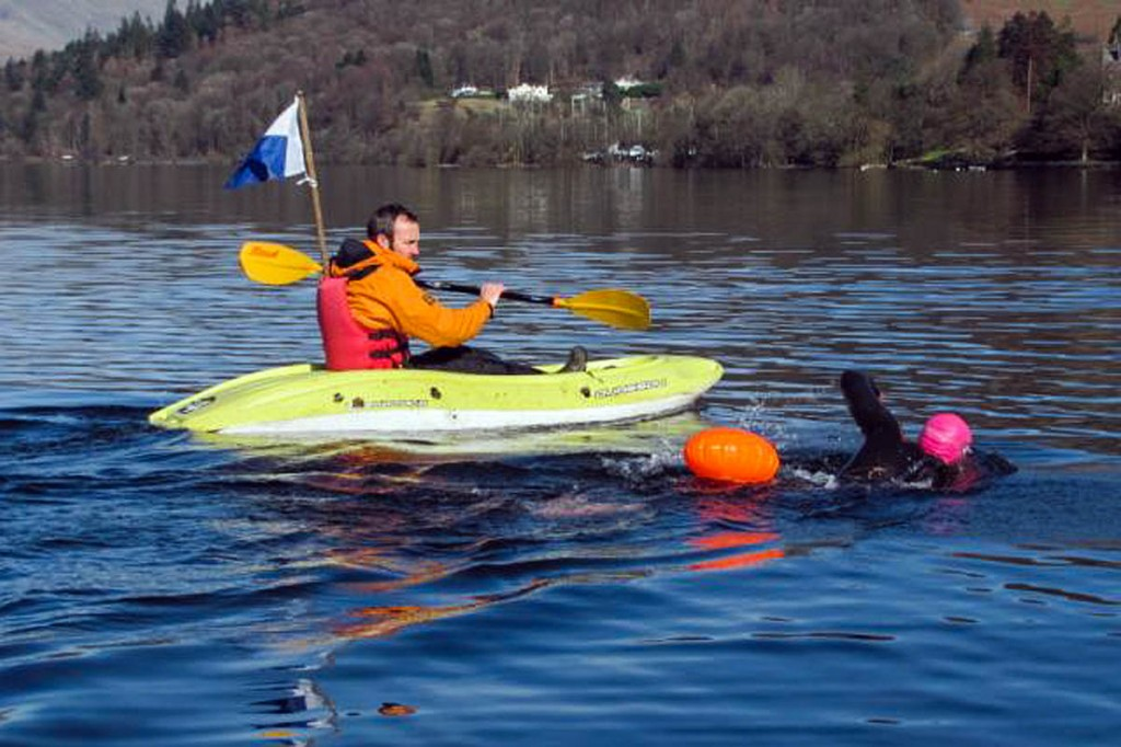 Swimmers need to take sensible precautions when taking to the water, Lake District bosses said