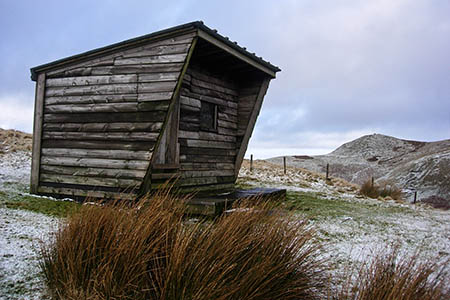 The Lamb Hill Hut. Photo: BSARU