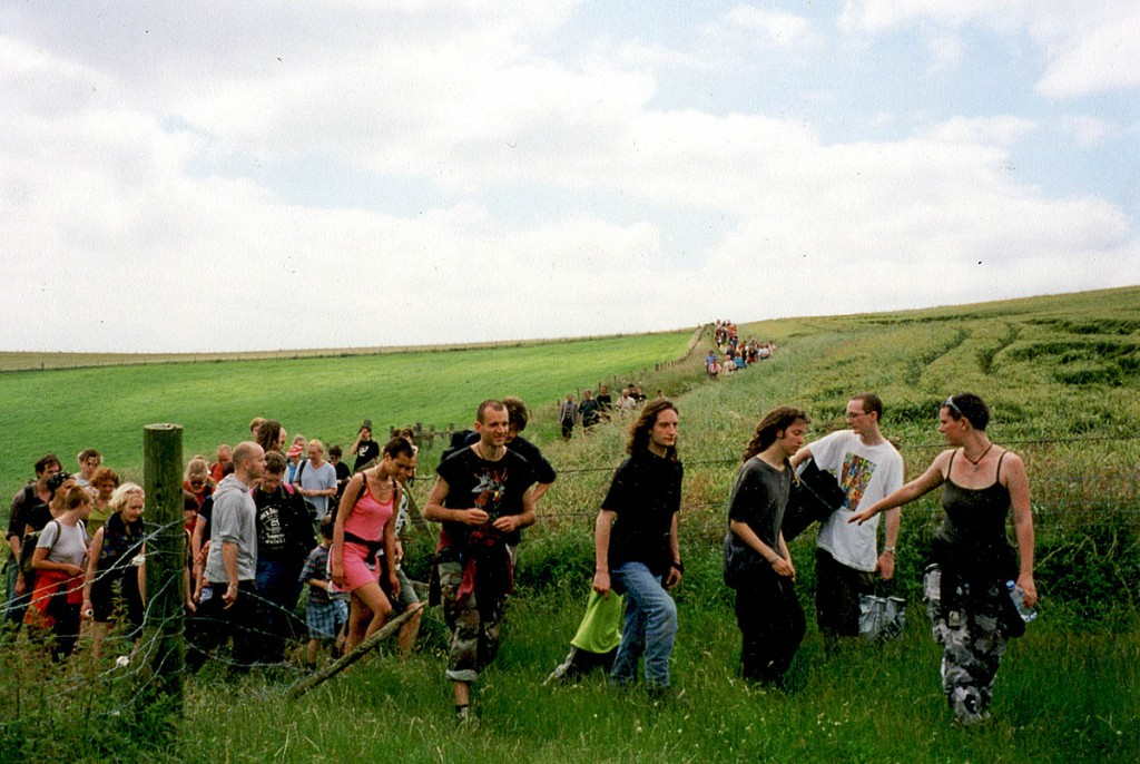 The campaign group is planning a 'peaceful mass trespass'