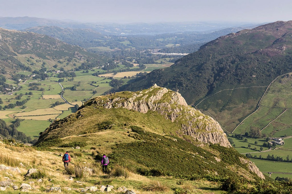 Great Langdale, venue for the mountain marathon. Photo: Bob Smith/grough