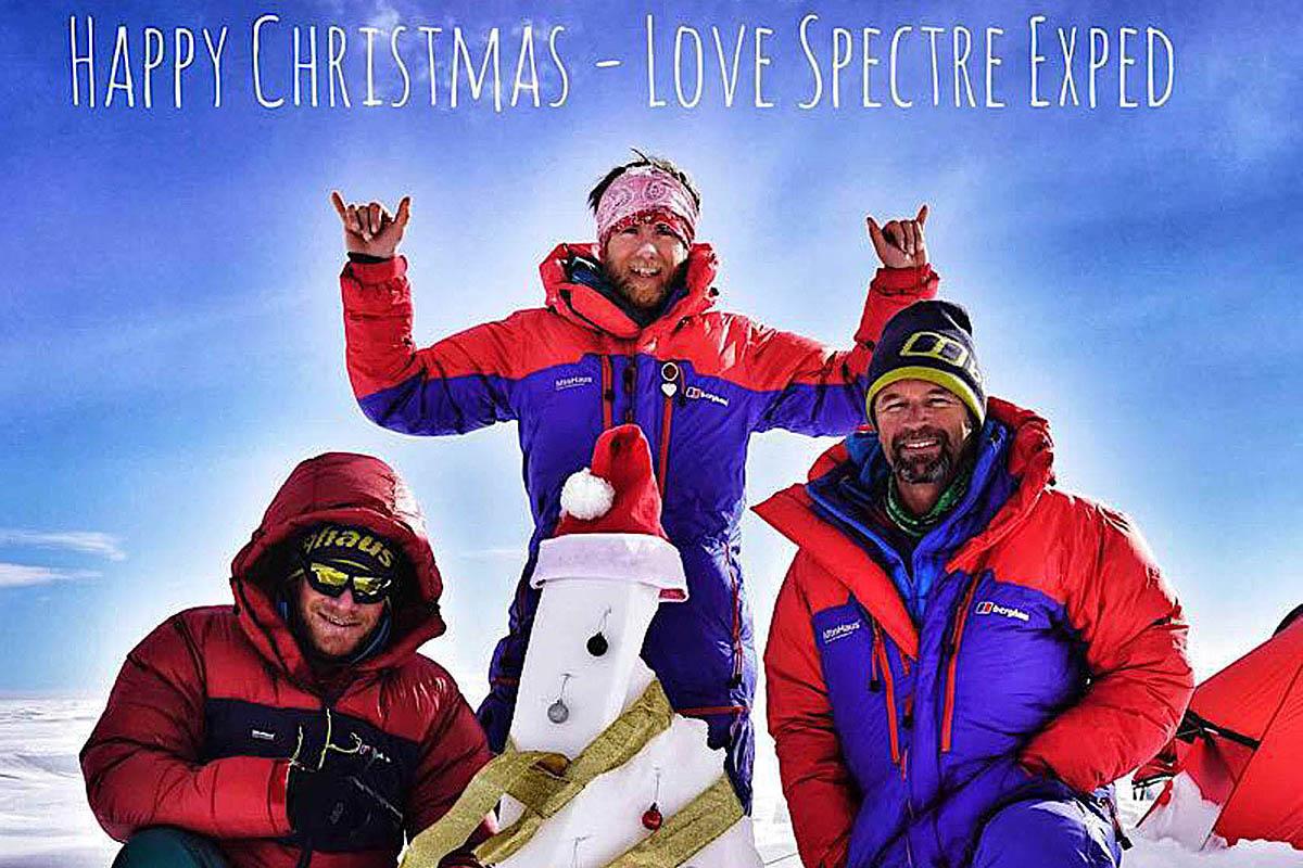 Grough Climber Leo Houlding And Spectre Team Send Christmas