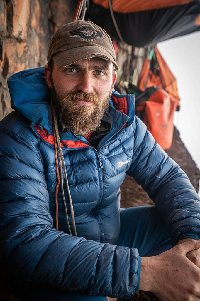 Matt Pycroft, chief photographer and film-maker on the expedition. Photo: Coldhouse Collective/Berghaus