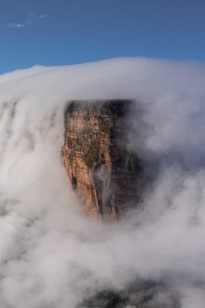 The prow of Roraima. Photo: Coldhouse Collective/Berghaus