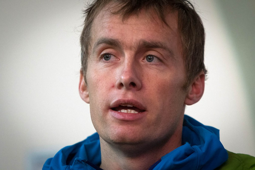 Climber and adventurer Leo Houlding