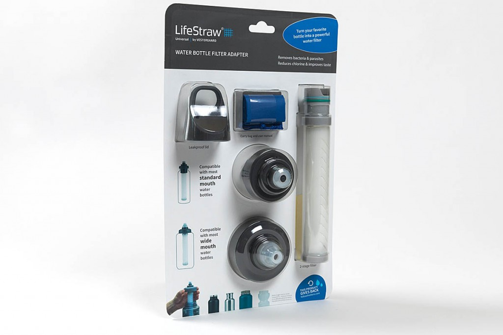 LifeStraw Universal. Photo: Bob Smith/grough