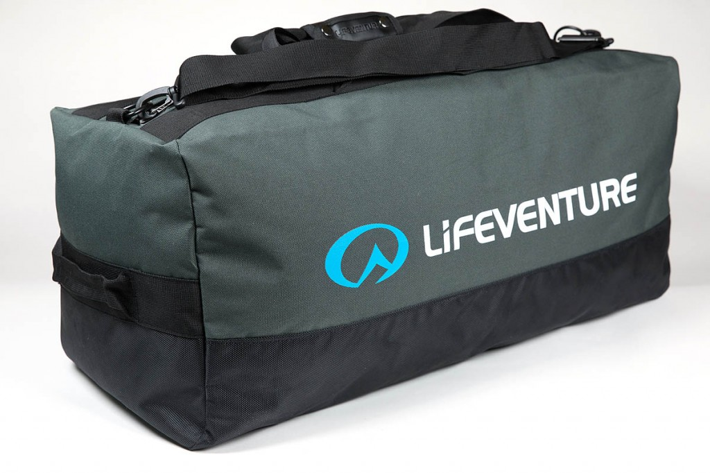 Lifeventure Expedition Duffle. Photo: Bob Smith/grough