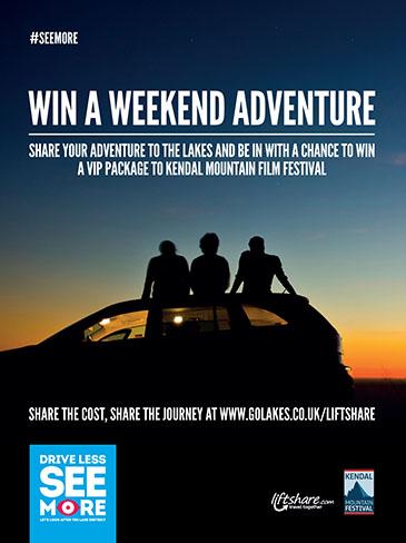 Win a weekend adventure
