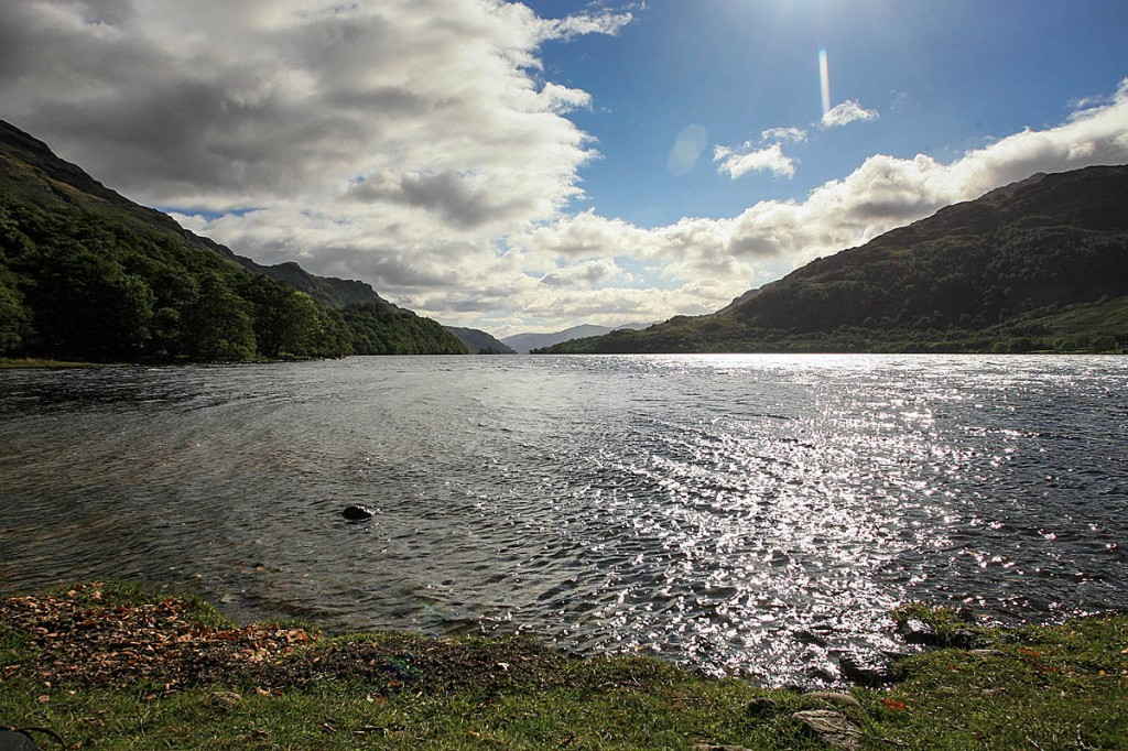 Three people died in the northern stretch of Loch Lomond. Photo: Bob Smith/grough