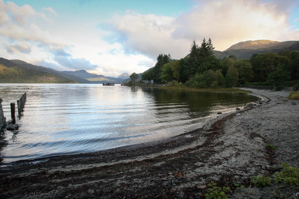The thefts took place on the east side of Loch Lomond. Photo: Bob Smith/grough