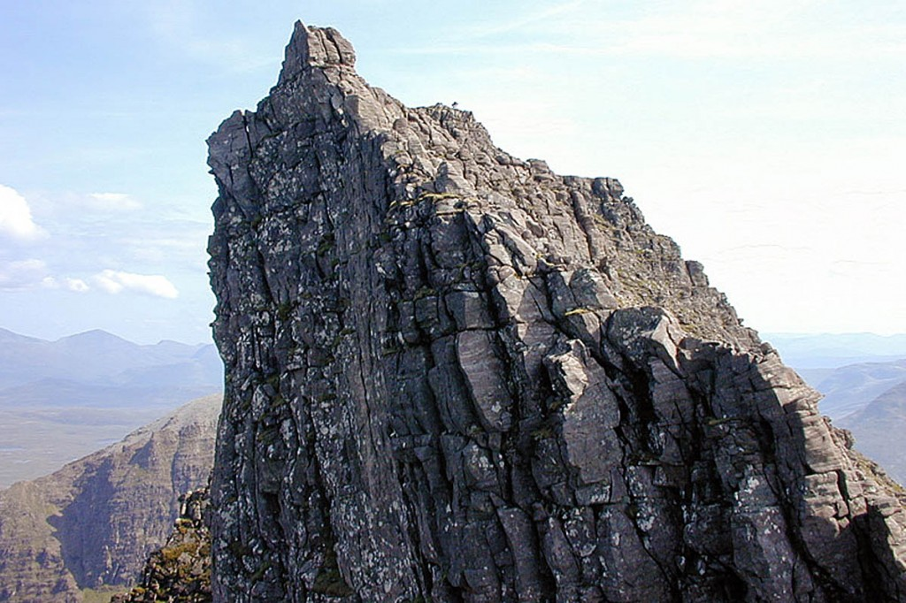 Lord Berkeley's Seat in the An Teallach range. Photo: Nigel Brown CC-BY-SA-2.0