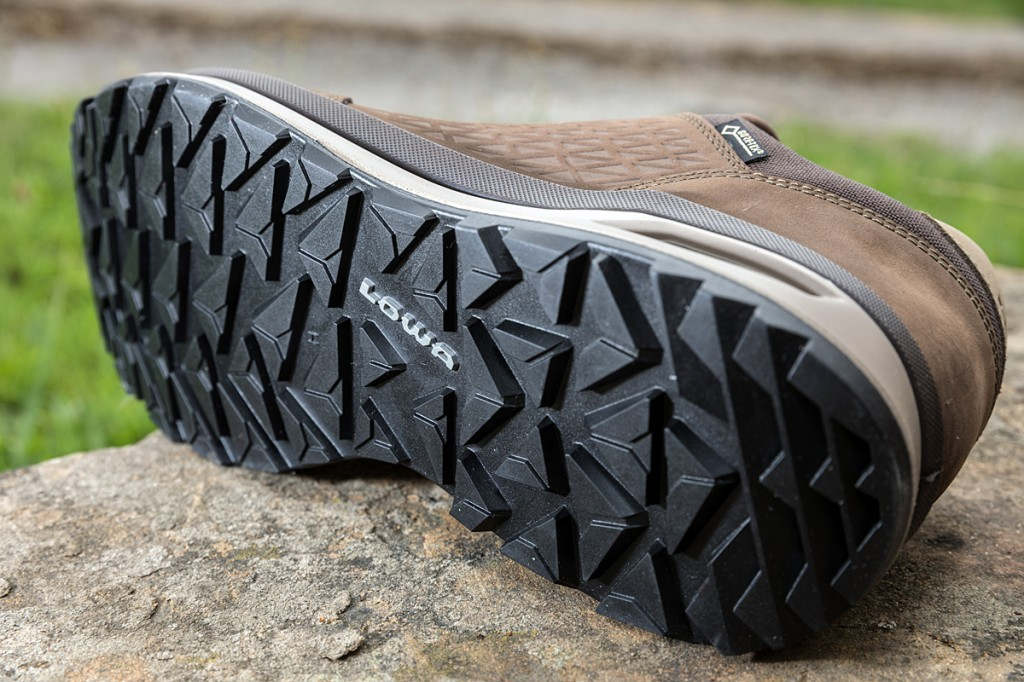 The Lowa outsole worked well. Photo: Bob Smith/grough