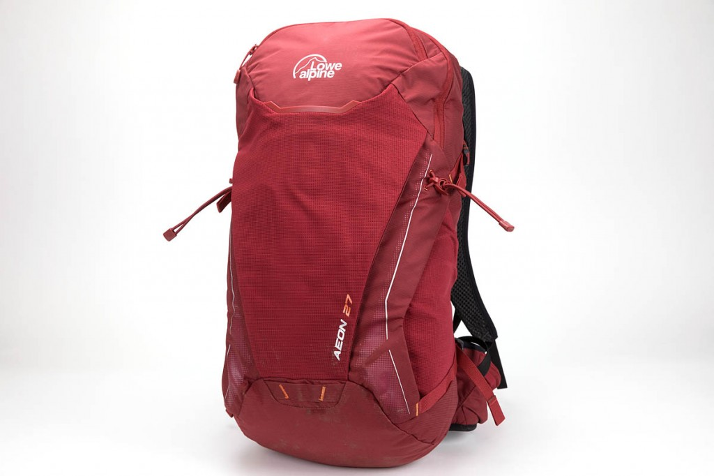 Lowe Alpine Aeon 27 rucksack. Photo: Bob Smith/grough
