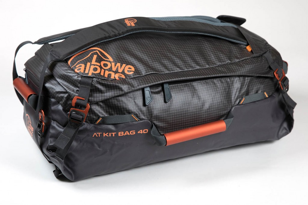 Lowe Alpine AT Kit Bag 40. Photo: Bob Smith/grough