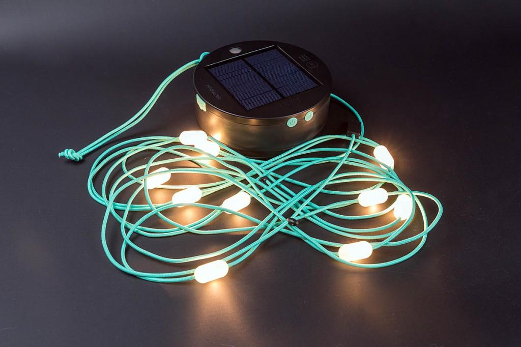 Luci Solar String Lights. Photo: Bob Smith/grough