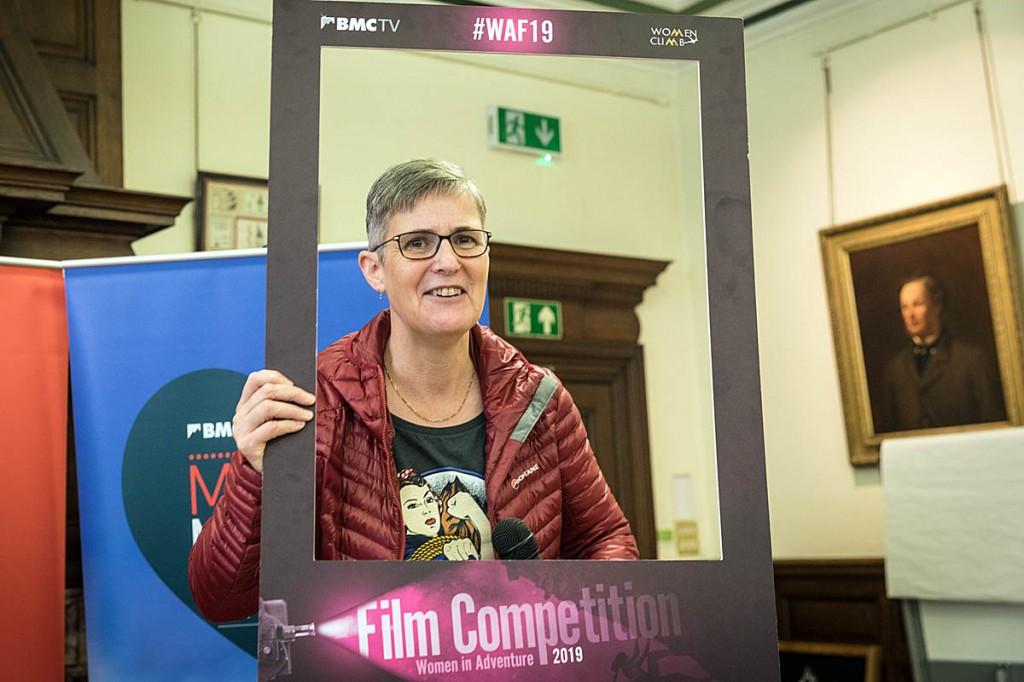 In the frame: BMC president Lynn Robinson. Photo: Bob Smith/grough