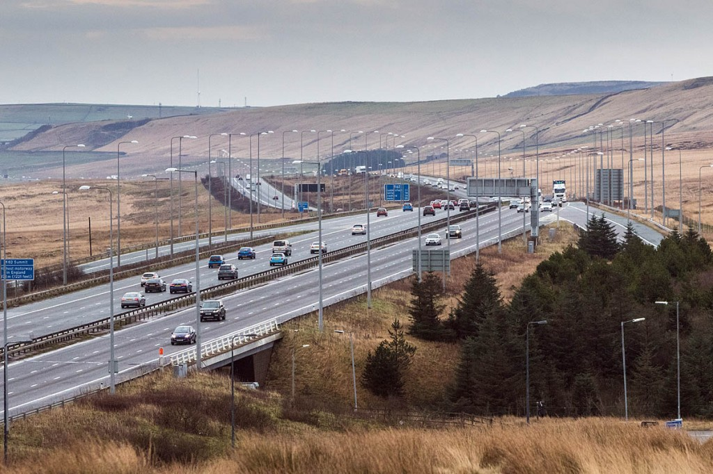 The new forest will be centred on the M62corridor. Photo: Bob Smith/grough