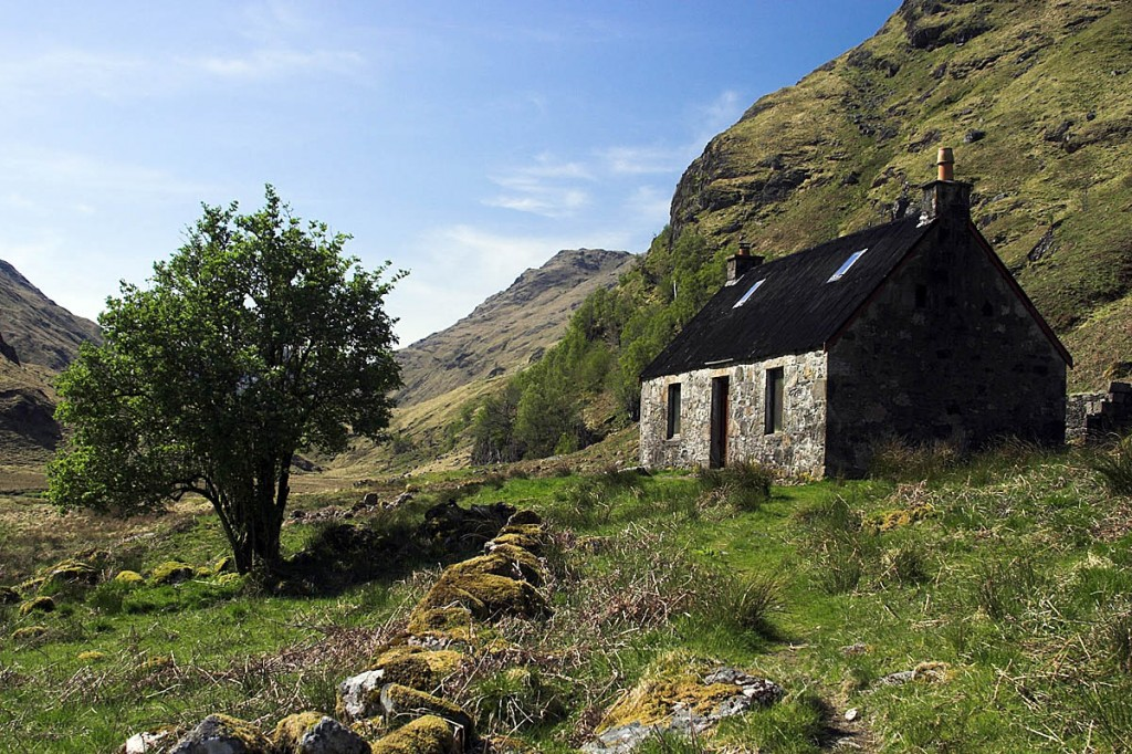 The Glenpean bothy is the second to be taken into ownwership by the charity. Photo: MBA