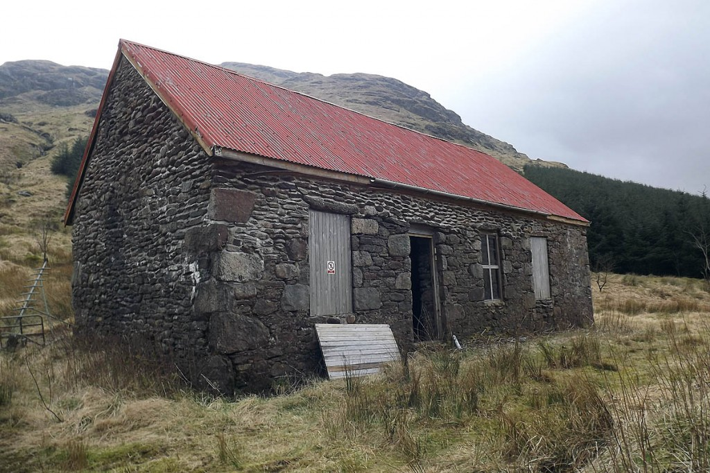 The building was derelict before the charity's renovation. Photo: MBA
