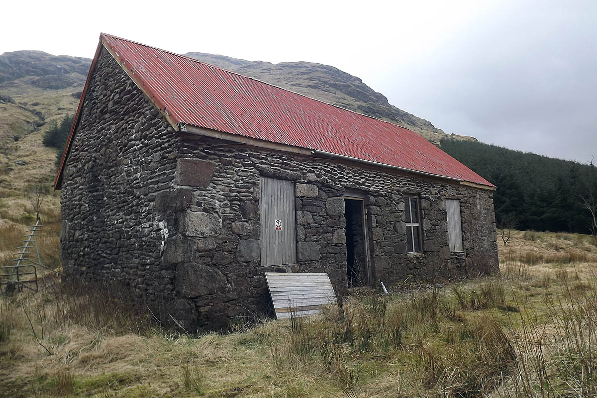 Grough New Abyssinia Bothy Opens To Outdoor Users In