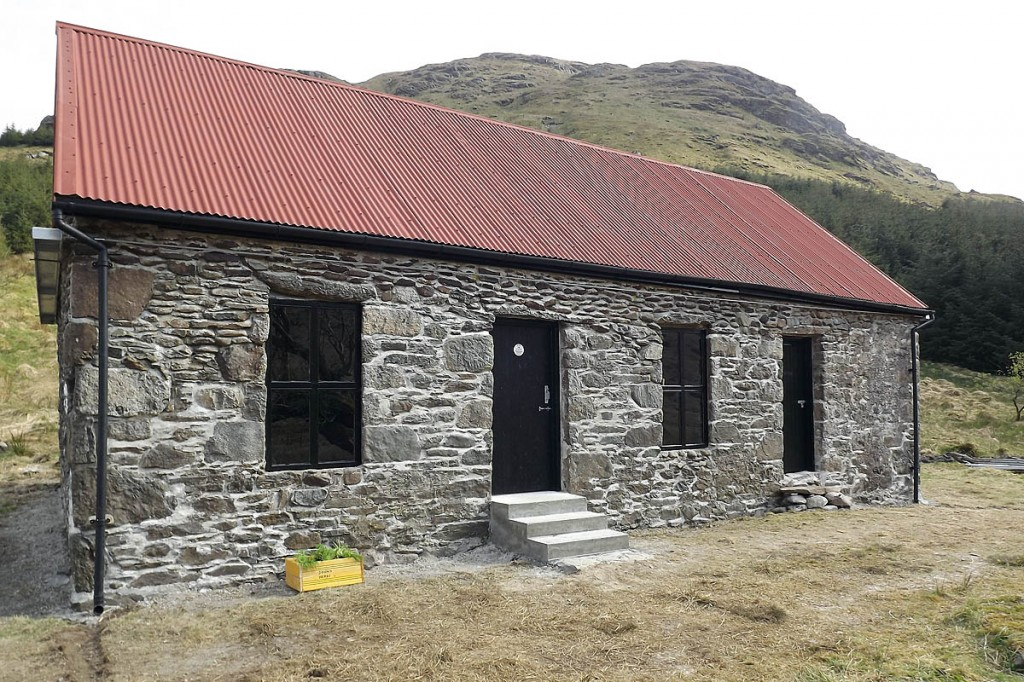 The new Abyssinia bothy. Photo: MBA