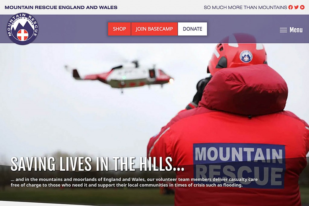 The relaunched MREW website