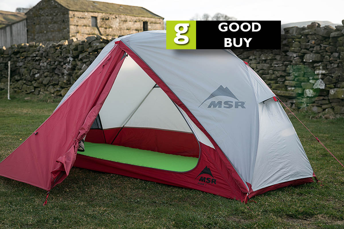 grough — On test: MSR Elixir 1 tent