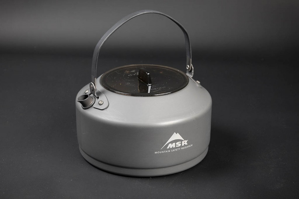 MSR Pika 1.0 L Teapot. Photo: Bob Smith/grough