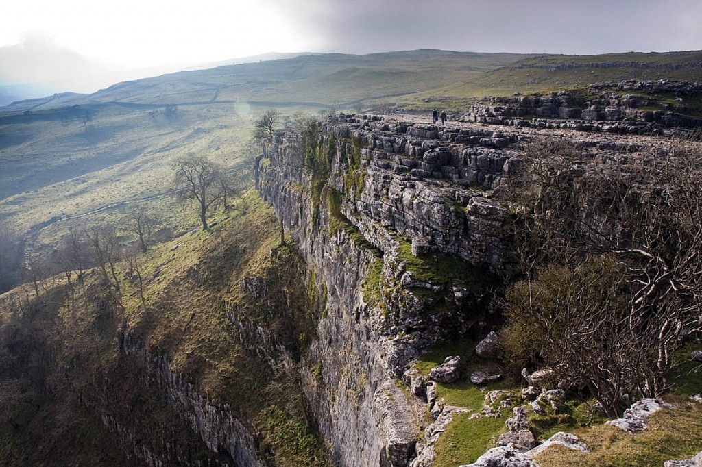 The incident happened at the top of Malham Cove. Photo: Bob Smith/grough
