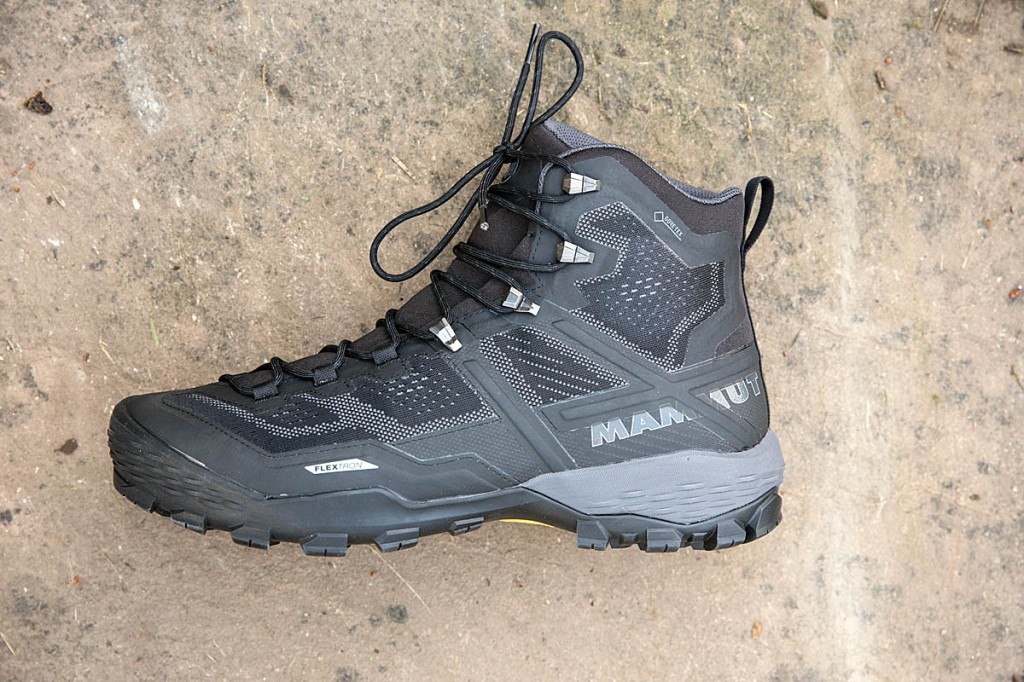 Mammut Ducan High GTX. Photo: Bob Smith/grough