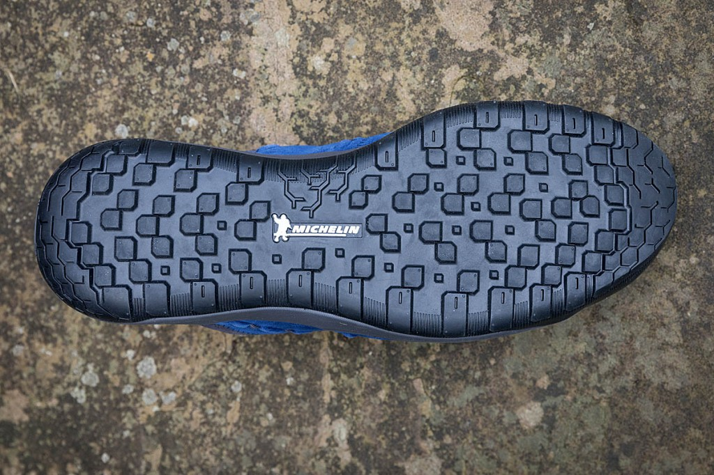 The Michelin outsole performed well. Photo: Bob Smith/grough