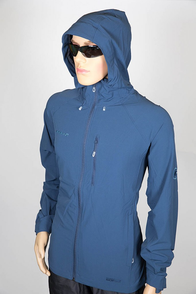 Mammut Runbold Trail SO Hooded Jacket. Photo: Bob Smith/grough