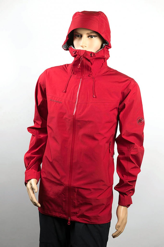 Mammut Crater Hooded Jacket. Photo: Bob Smith/grough