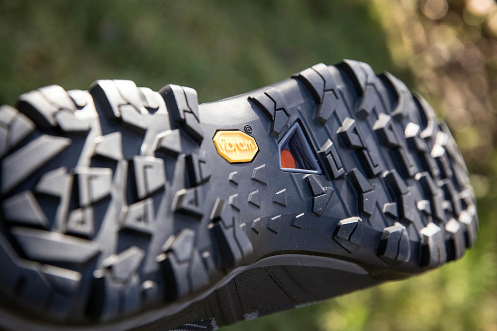 Mammut boot's outsole. Photo: Bob Smith/grough