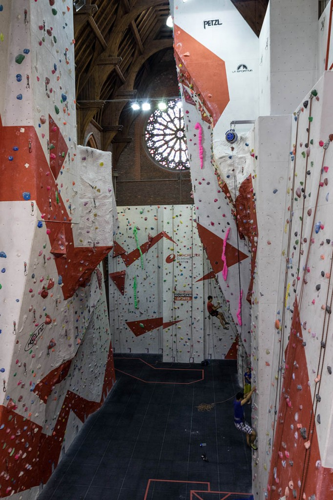 Most BMC members now use climbing walls. Photo: Bob Smith/grough