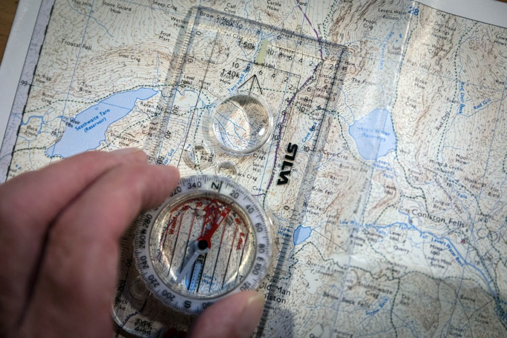 The ability to use a map and compass are essential when heading for the hills. Photo: Bob Smith/grough