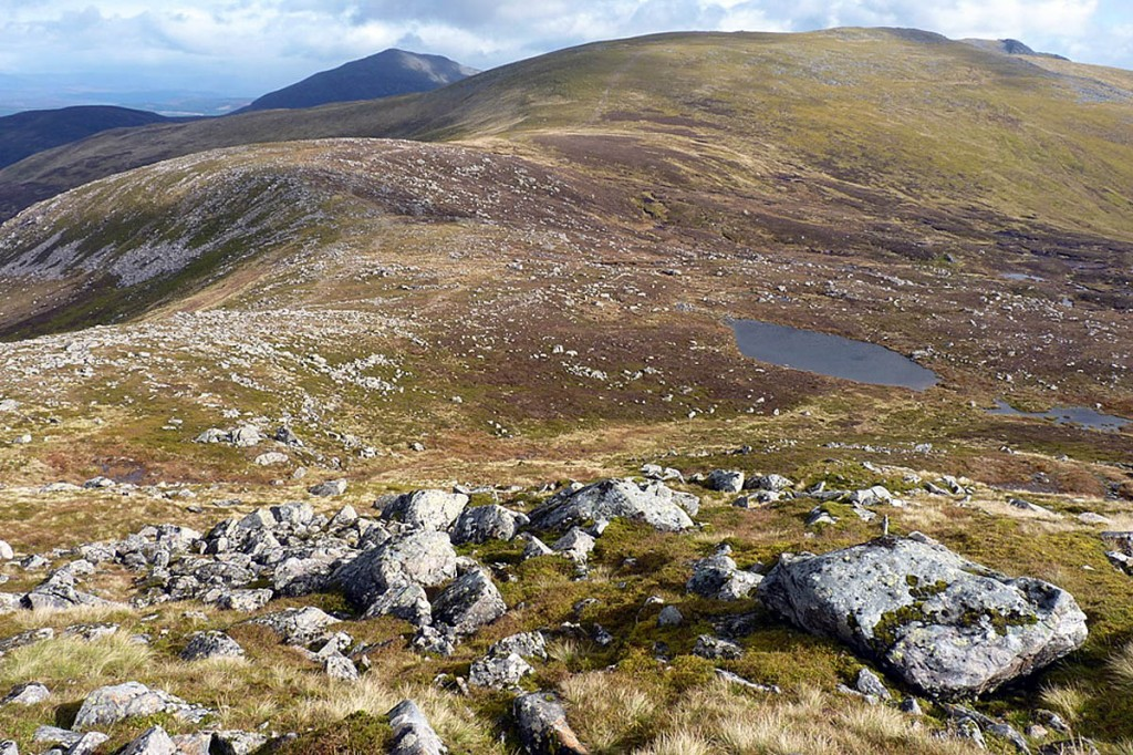 The body was found near Meall Garbh in Glen Lyon. Photo: Richard Law CC-BY-SA-2.0