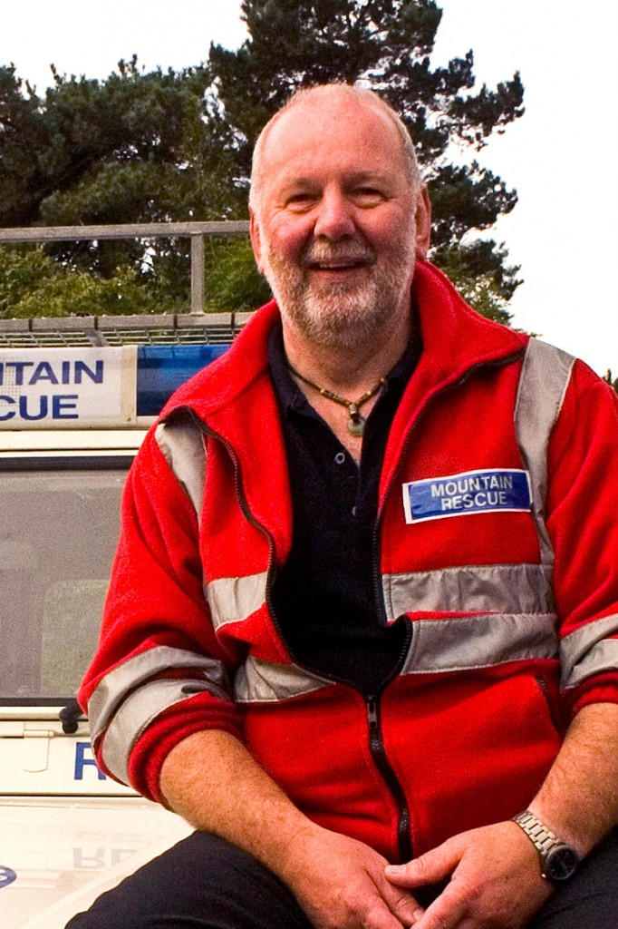 Mike France, chair of Mountain Resue England and Wales