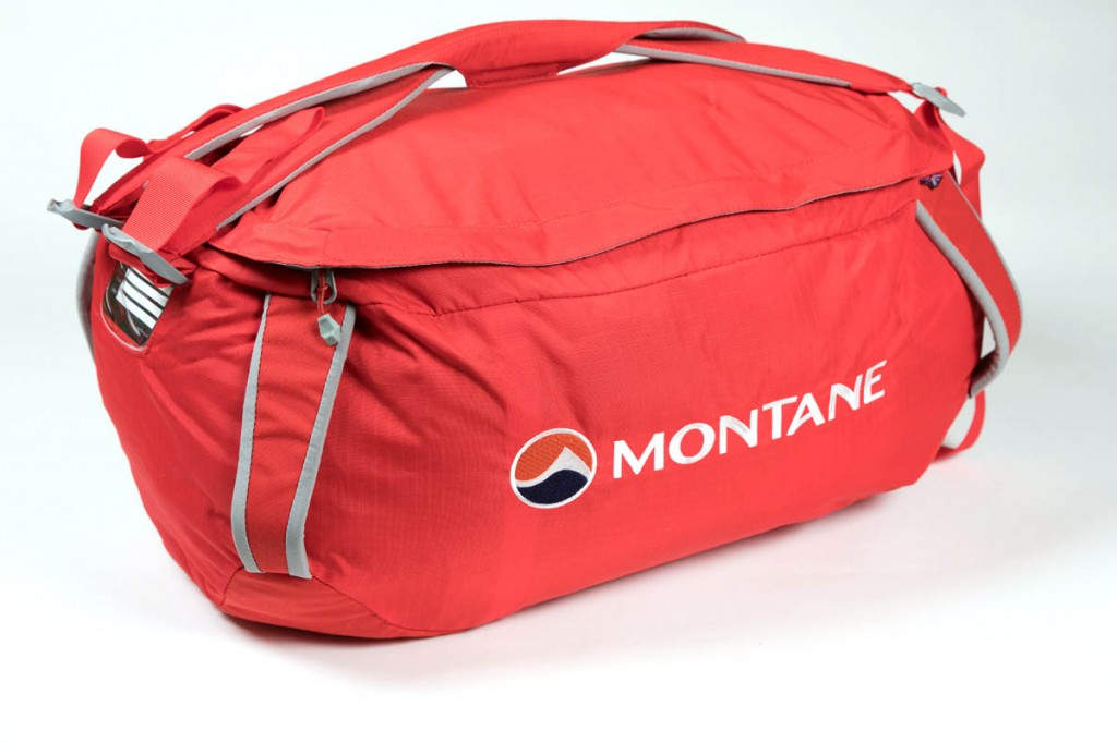 Montane Transition 40 Kit Bag. Photo: Bob Smith/grough