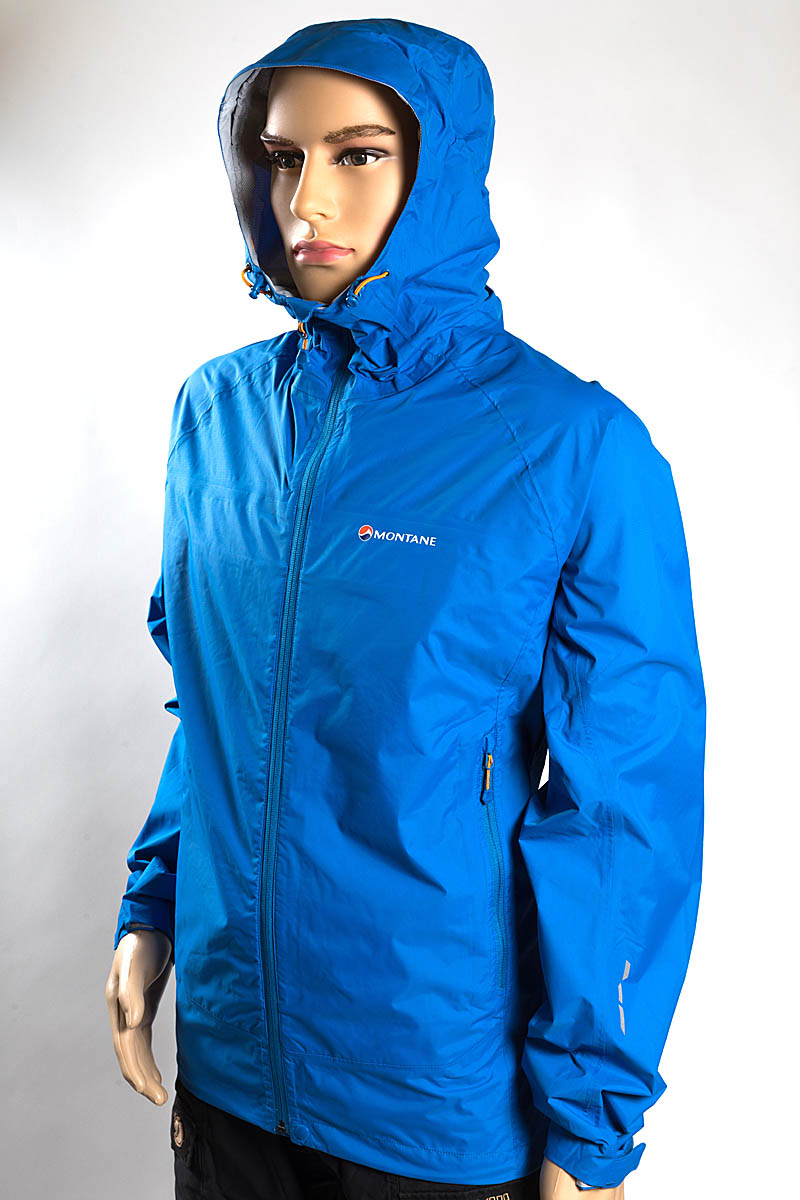 91eb84df4199 Montane Atomic Jacket Price  £125. Colour  blue. Weight  322g. Material   nylon. Waterproofing  Pertex Shield Country of manufacture  China
